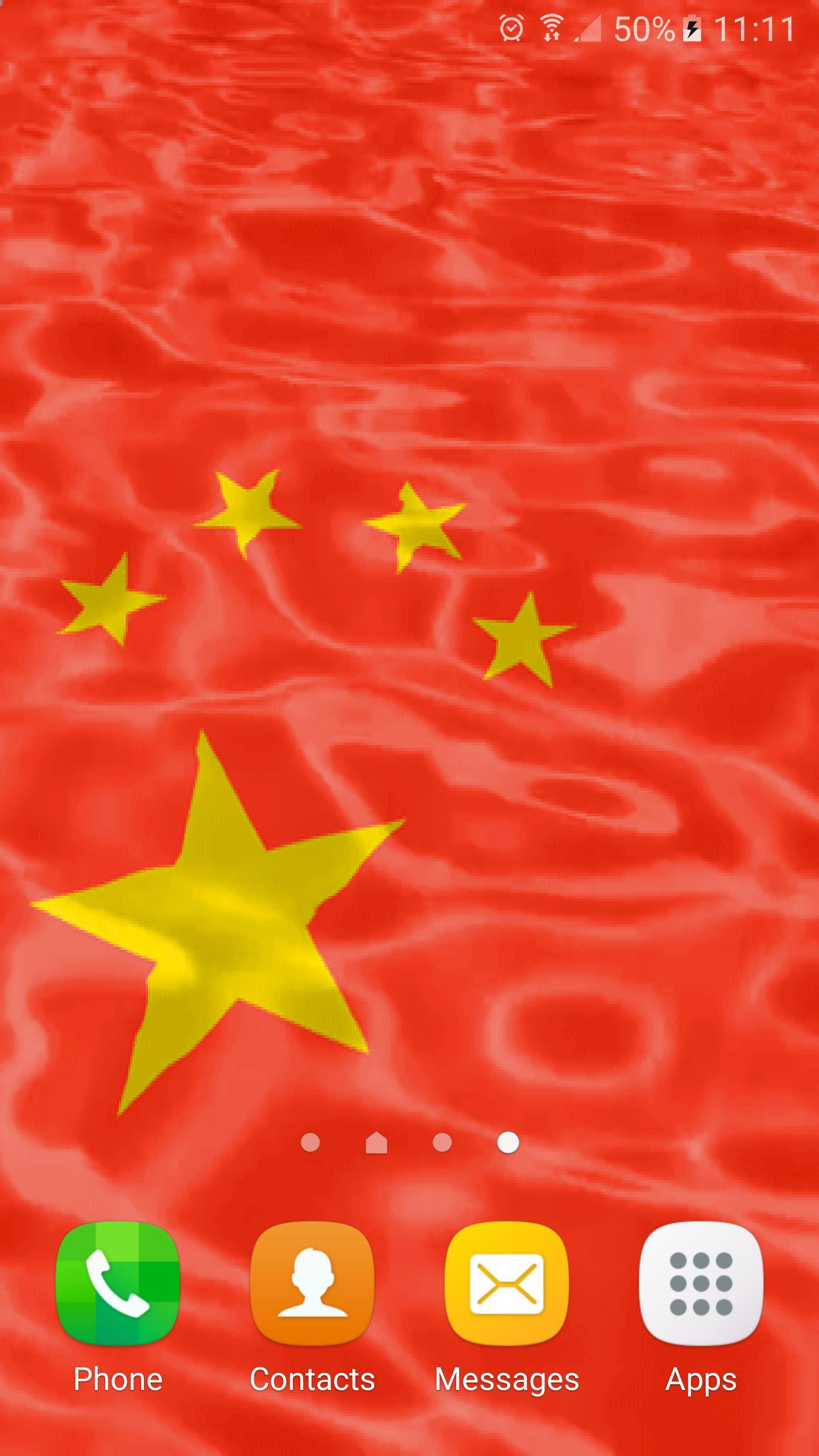 Android 用の 中国の旗 ライブ壁紙 Apk をダウンロード