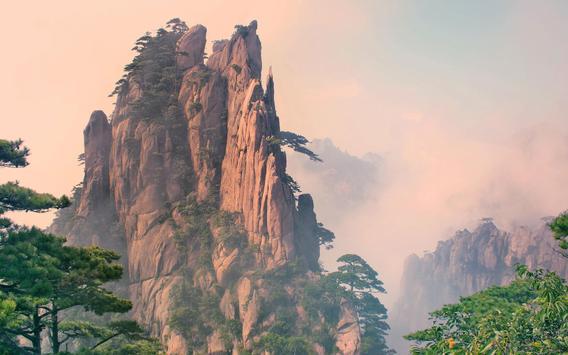 Huangshan Live Wallpaper apk screenshot