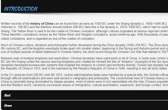 History of China screenshot 1