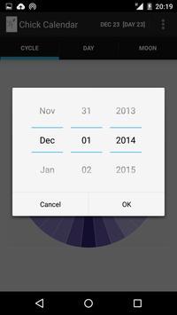 Chick Calendar screenshot 2