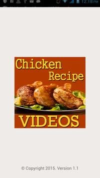 Chicken food recipes videos apk download free entertainment app chicken food recipes videos poster forumfinder Image collections