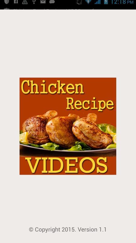 Chicken food recipes videos apk download free entertainment app chicken food recipes videos poster forumfinder Images