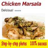 Chicken Marsala icon