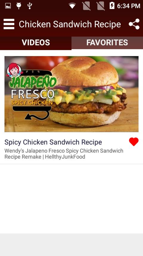 Chicken Sandwich Recipe for Android - APK Download