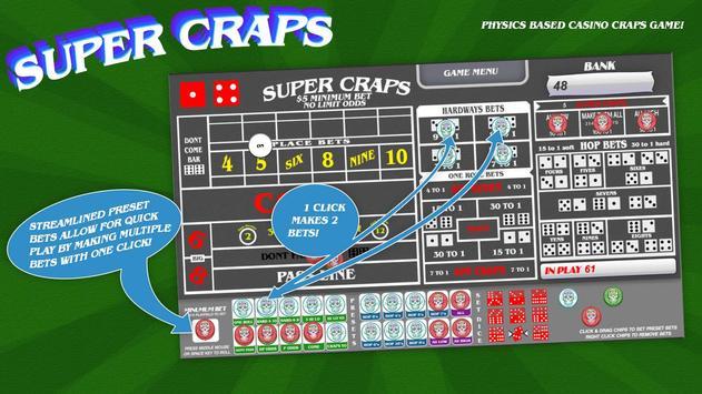 Super Craps screenshot 2