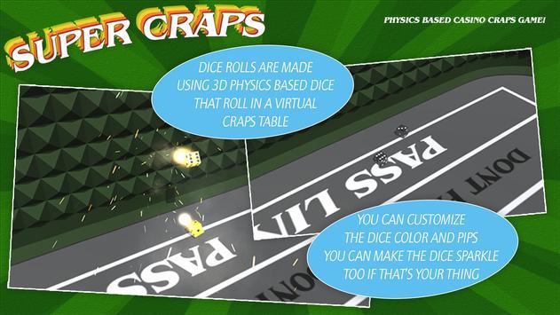 Super Craps screenshot 4