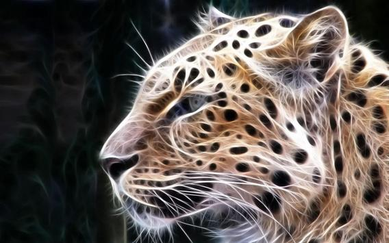 Big Cats Live Wallpaper apk screenshot