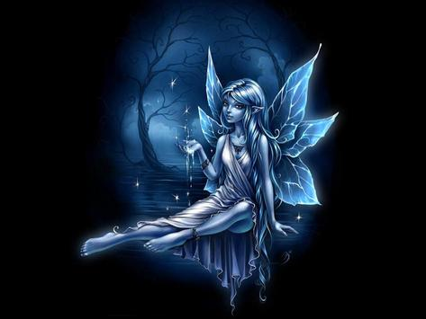 Blue Fairy Live Wallpaper poster