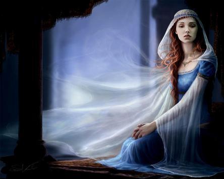 Blue Fairy Live Wallpaper screenshot 2