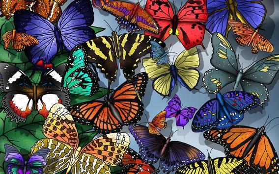 Butterfly Live Wallpaper screenshot 2