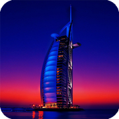 Dubai Buildings Live Wallpaper icon