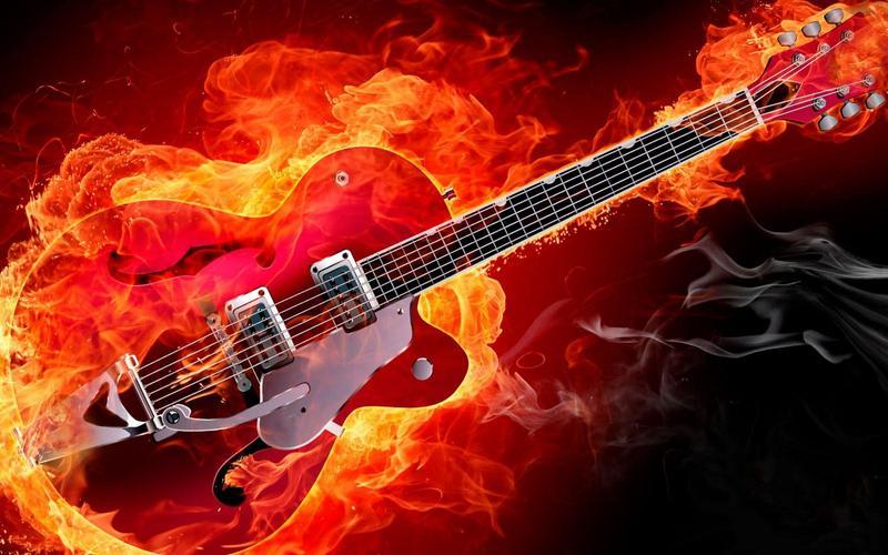 картинки гитара для рока пошел