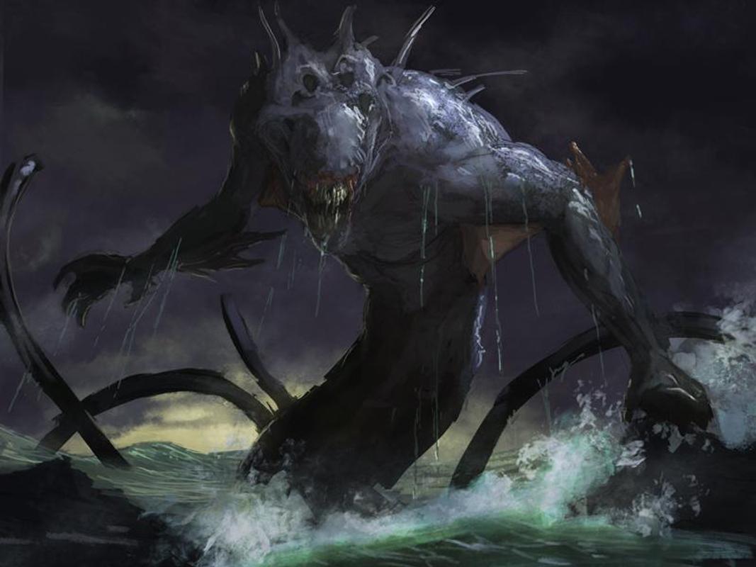 Kraken Live Wallpaper Monster Poster