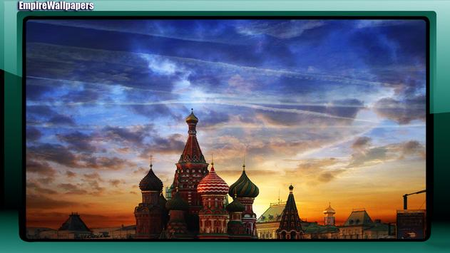 Moscow Wallpaper poster