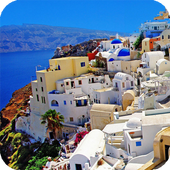Santorini Greece Wallpaper icon