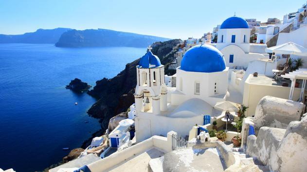 Santorini Greece Wallpaper apk screenshot