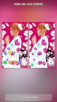 Chihayafuru anime wallpaper 2018 apk screenshot
