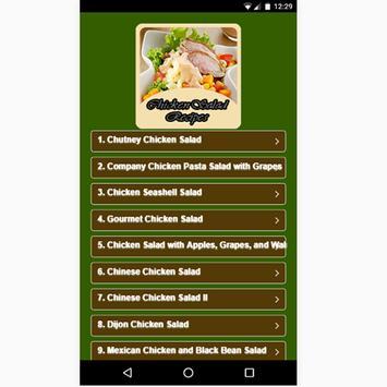 Chicken Salad Recipes poster