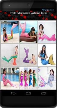 Child Mermaid Costume Ideas poster
