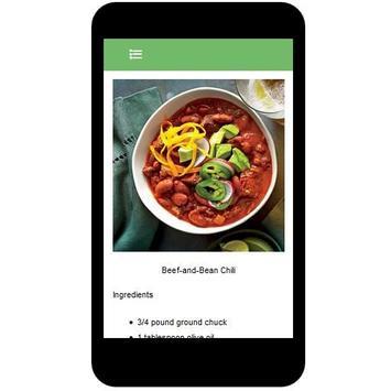 Chili Recipes screenshot 2