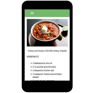 Chili Recipes screenshot 3