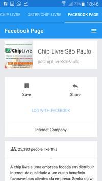 Chip Livre screenshot 2