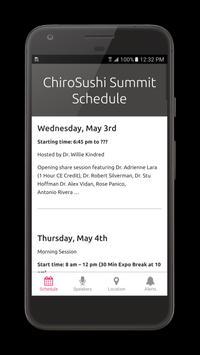 ChiroSushi apk screenshot