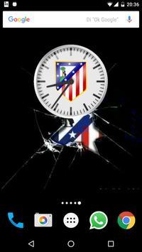 Reloj Atlético de Madrid apk screenshot