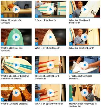 Choosing a Surfboard poster