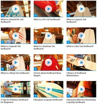 Choosing a Surfboard apk screenshot