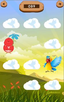 Pair matching game (Bird Matching) screenshot 1