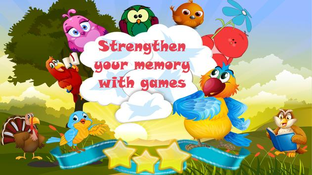 Pair matching game (Bird Matching) screenshot 4