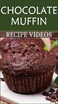 Chocolate Muffin Recipe poster