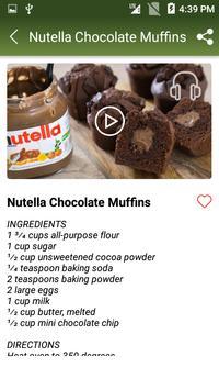 Chocolate Muffin Recipe screenshot 2