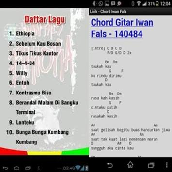 Chord Guitar Iwan Fals APK Download - Free Books & Reference APP for ...