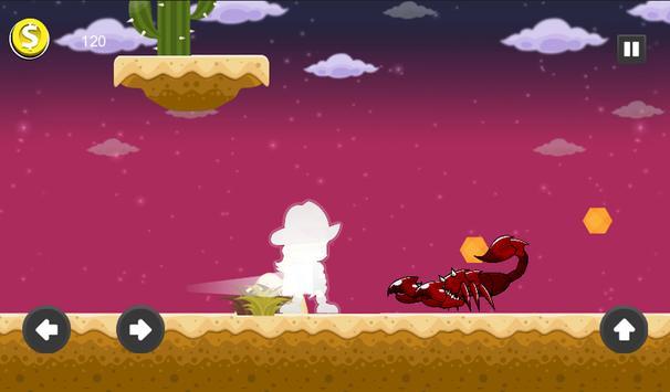 Super Florra Run Adventure - The Dark World apk screenshot