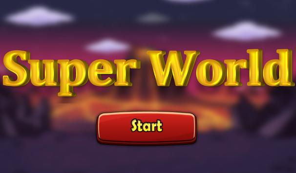 Super Florra Run Adventure - The Dark World poster