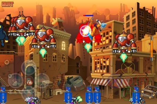 Dragon Z Super Saiyan Blue Warriors apk screenshot