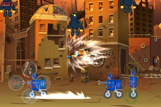 Dragon Z Super Saiyan Blue Warriors poster