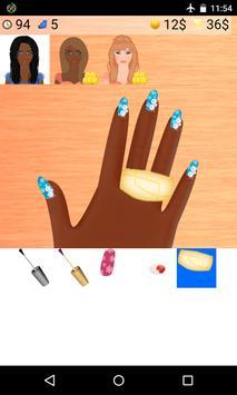 christmas nails games poster