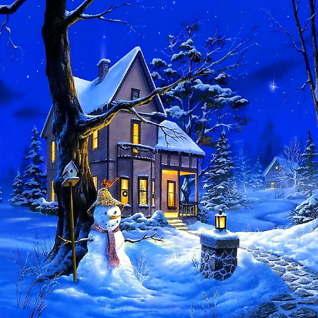 Sfondi Natalizi Animati.Notte Di Natale Sfondi Animati For Android Apk Download