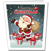 Christmas Cards With Greetings icon
