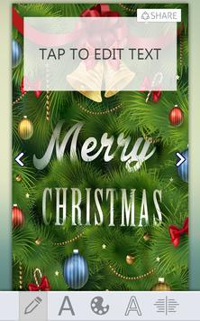 Christmas Greeting Card Maker screenshot 4