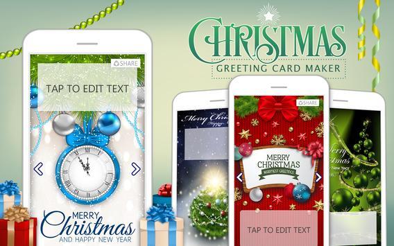 Christmas Greeting Card Maker poster