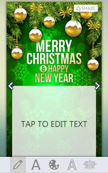 Christmas Greeting Card Maker screenshot 2