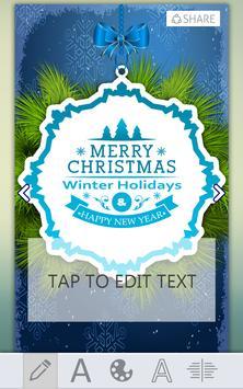 Christmas Greeting Card Maker screenshot 3