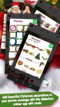 Christmas Photo Editor With Music Slideshow screenshot 3