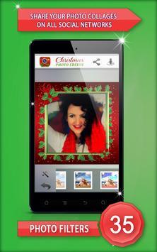 Christmas Photo Editor screenshot 4