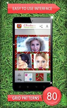 Christmas Photo Editor poster