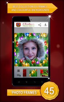 Christmas Photo Editor screenshot 1